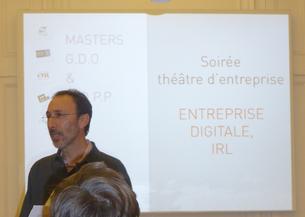 « La transformation numérique » sur scène.  Merci pour cette soirée !