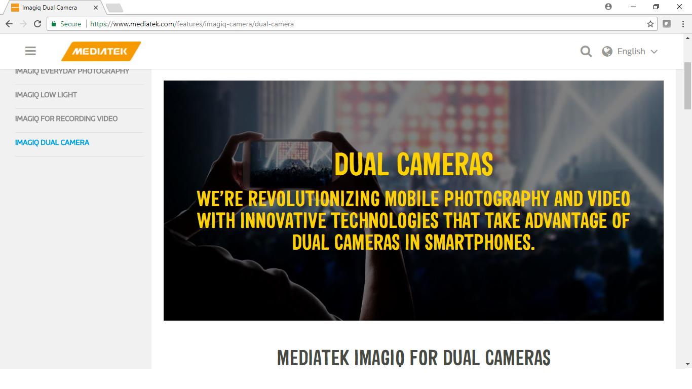 Imagiq Dual Camera 9