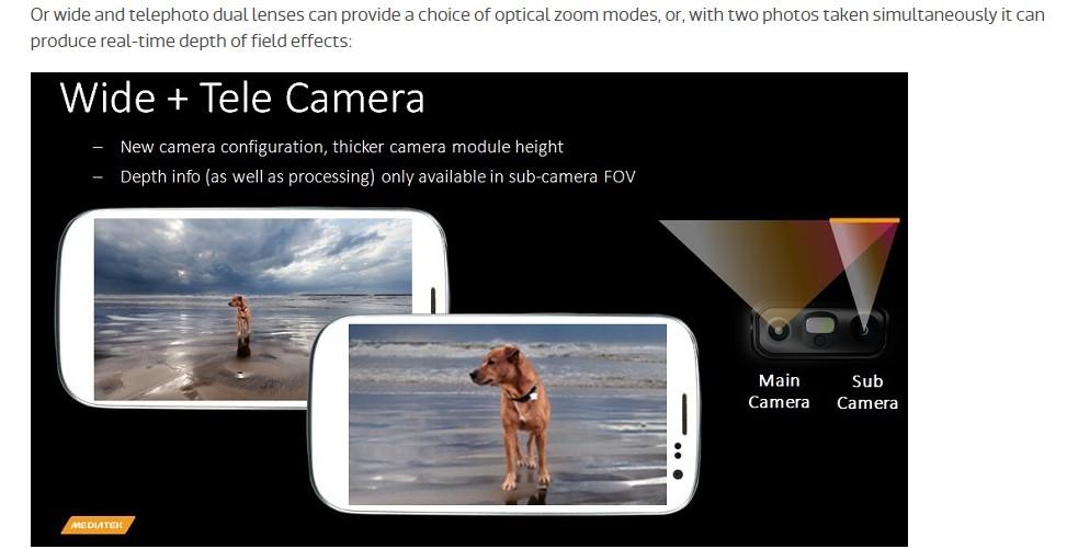 MediaTek Dual Camera 4