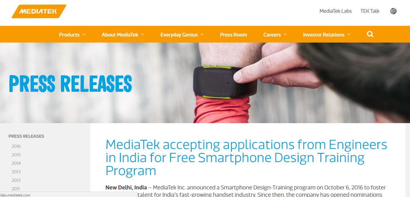 MediaTek India 1