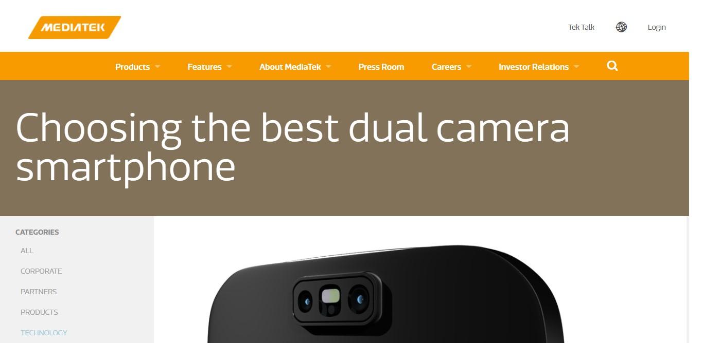 MediaTek DualCamera 1