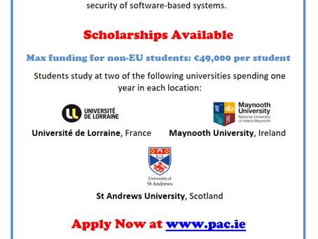 Full student scholarships for MSc degree