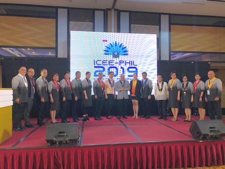Dr. Cecilia Chan delivered plenary speech at ICEE-Phil 2019, Iloilo City, Philippines