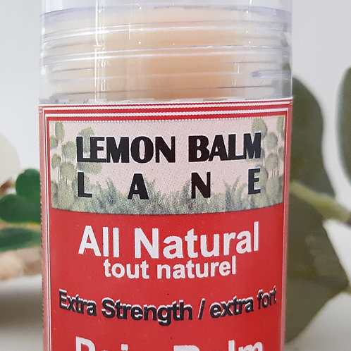 Extra Strength Pain Relief Balm