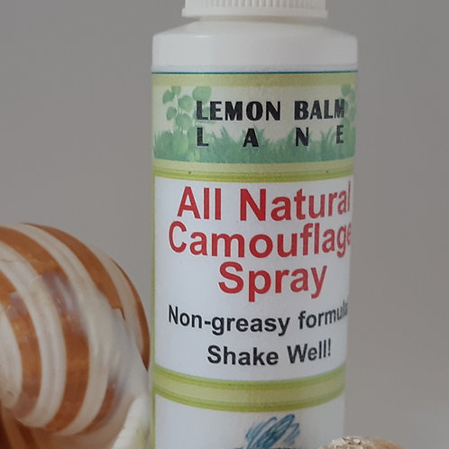 All Natural Camouflage Spray