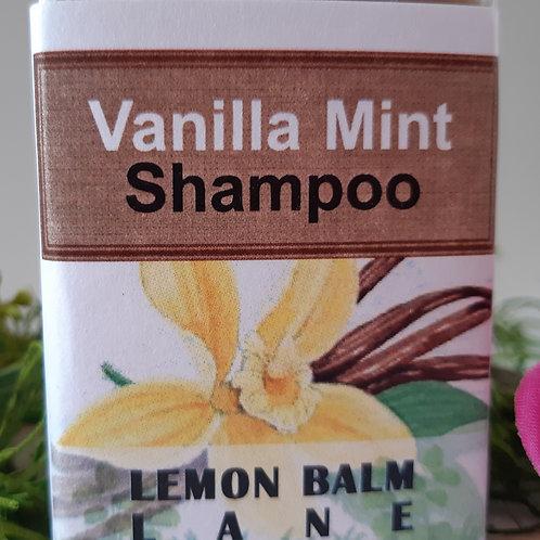 Vanilla Mint Shampoo