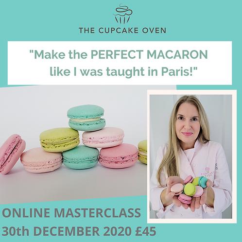 ONLINE Macaron Masterclass