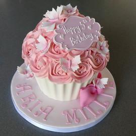 Sarah Thomas - Giant Cupcake1