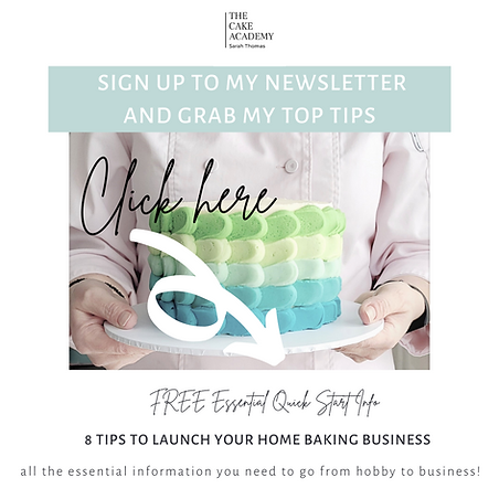 Tips to launch your home baking business