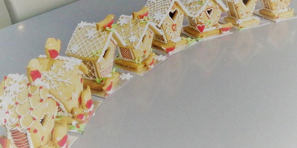 Gingerbread Birdhouse Class £99