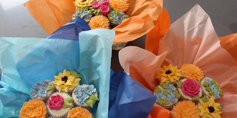 Buttercream Flower Bouquet Class £99