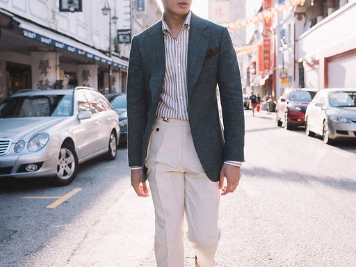 Sports Jacket with Cotton Pants