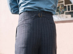 Back Adjusters on a Semi One Piece Trousers