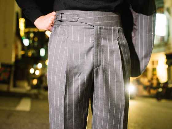 Single Gurkha Bespoke Trousers