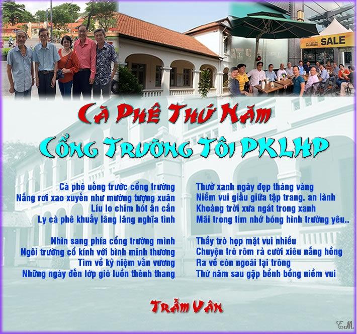 TV_Cà Phê Thứ Năm Cổng Trường Tôi PKLHP.