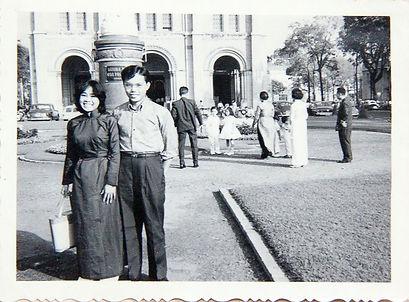 HMBNga_Bame.Giáng_sinhSaiGon_năm_1962.