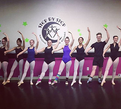 Let's see those CRAZY SOCKS tonight! #sbsdancersrock #funfebruary #crazysocks #sbsfamily #ballet #da
