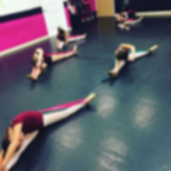 Stretch it out! #sbsdancersrock #sbsfamily