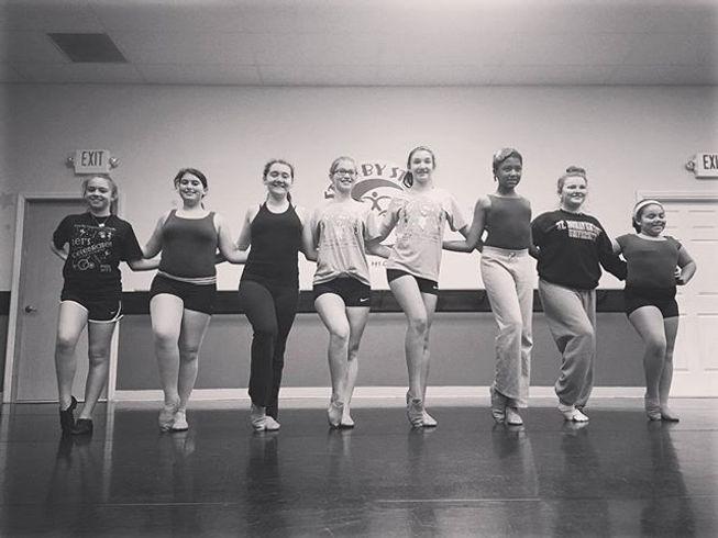 Future Rockettes! #sbsdancersrock #holidayfun #sbsfamily
