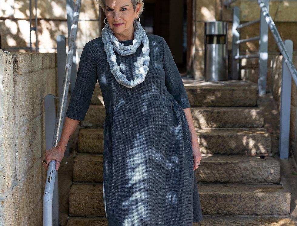 שמלת תמר - אפור