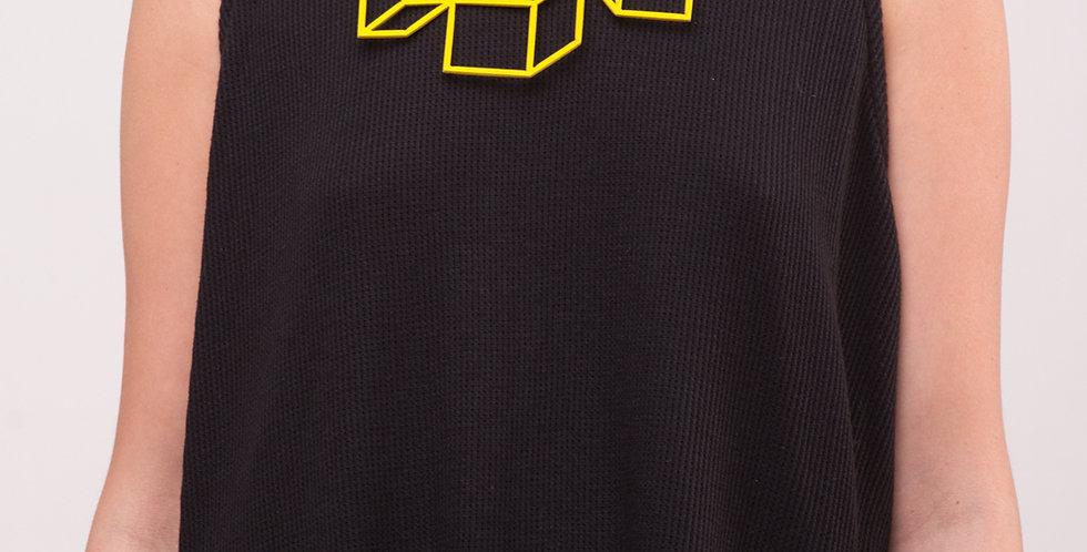 שרשרת 3 קוביות צהוב