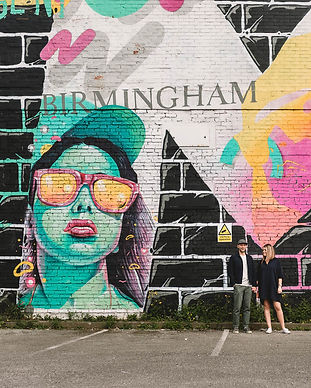 Birmingham Graffitti Art Wedding Shoot y