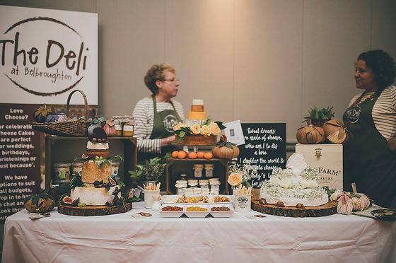 Deli at Belbroughton at Wedding Market in September 2019