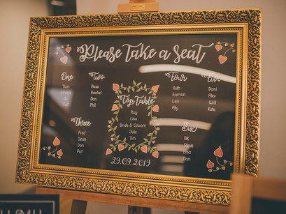 Introducing One of a kind Chalkboards