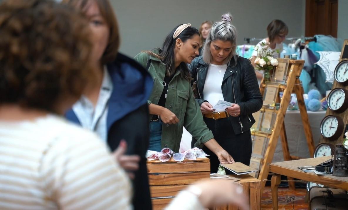 Wedding Market Visitors