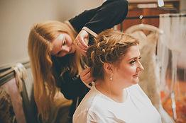 Jennifers Dressing Table Bridal Hair taken by Dearest Love Photography