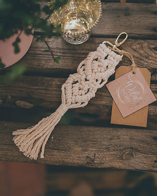 Wild Ivory Macrame photo taken by Dearest Love Photography at our Wedding Market