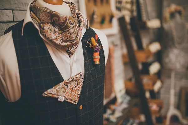 Lilly Dillys Bespoke Accessories for a Groom taken by Dearest Love Photography at our Wedding Market