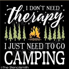 Don't need therapy Camping