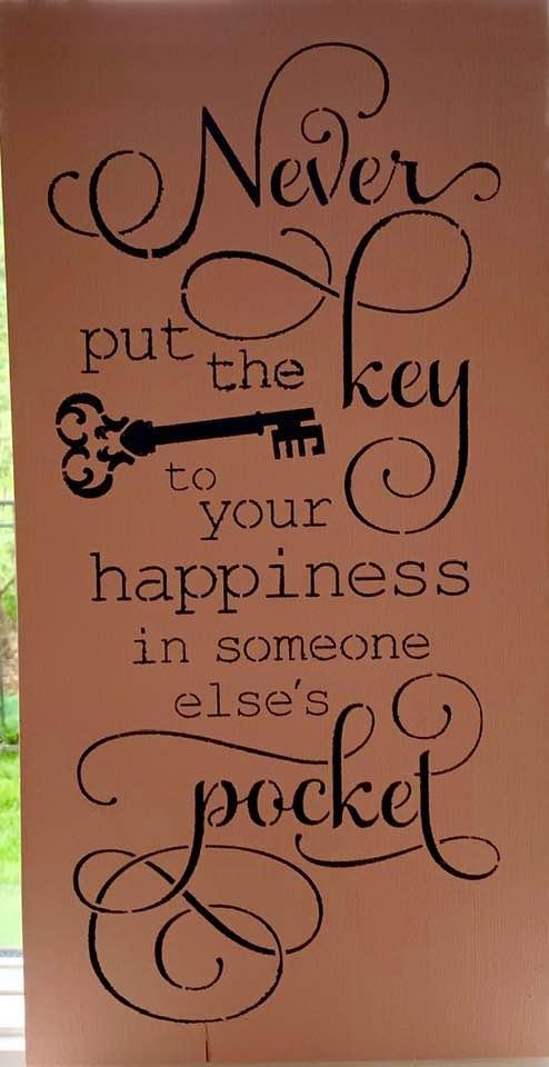 Never Put the Key