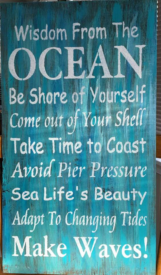 Wisdom from the Ocean
