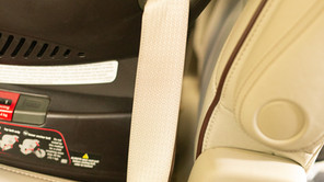 Forward Facing Install using the vehicle seat belt