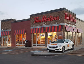 Legacy Gate Tim Hortons Commercial Architecture