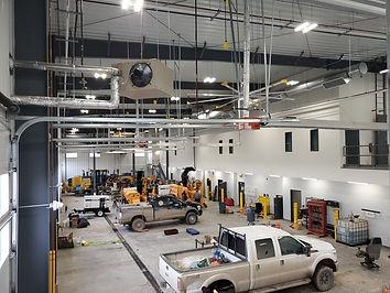 municipal public works facility interior