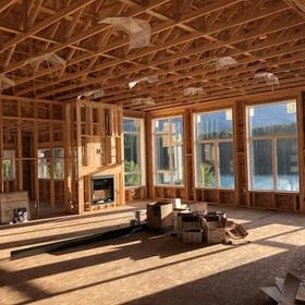 Residential Interior under Construction