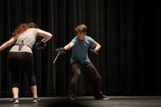 Willamette University Stage Combat SPT