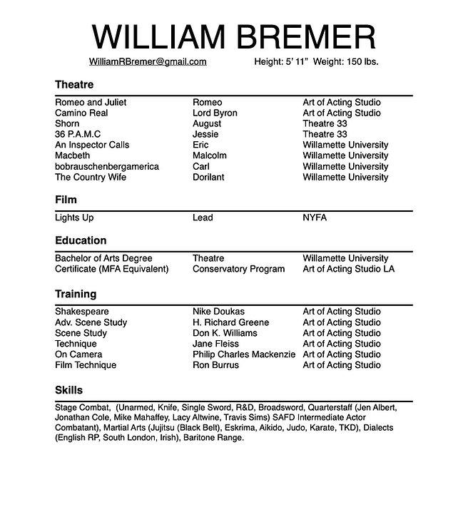 William Bremer Resume.jpg