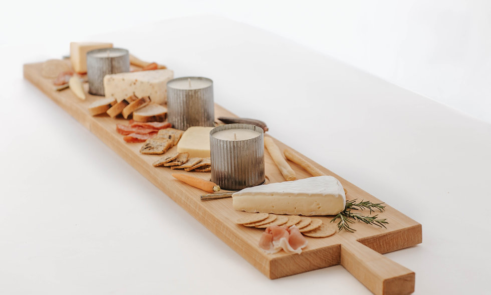 Candle Board | 3 Tin Candles