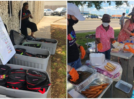 Waco: Free barbecue and backpack giveaway a big success
