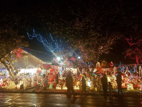 Holiday Light Displays in Waco