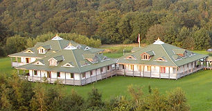 Areial photo of Maharishi Vedic Center.j