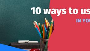 สร้างห้องเรียนให้น่าสนใจด้วย 10 ฟังก์ชั่นจาก Canva