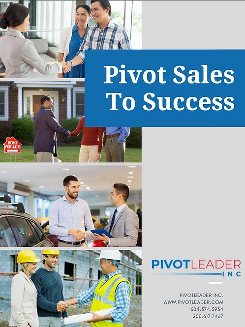 Pivot Sales to Success Course