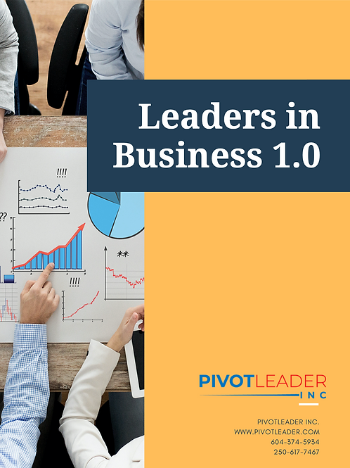 Leaders in Business 1.0 Course