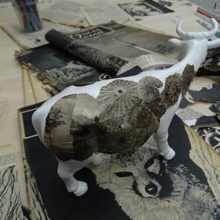 "Projet vachette ""cowstumée""- evolution"