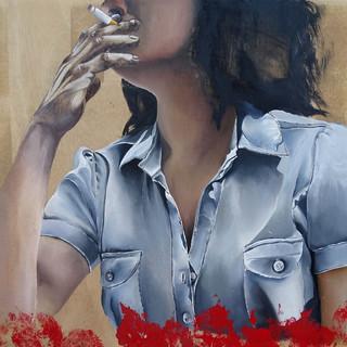 Portrait buste femme -série Portrait